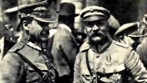 JozefPiłsudski-JózefHaller-BitwaWarszawska1920-480